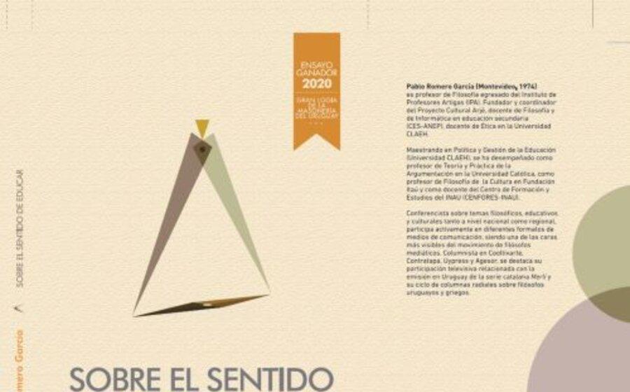 imagen de Sobre el sentido de educar, de Pablo Romero García