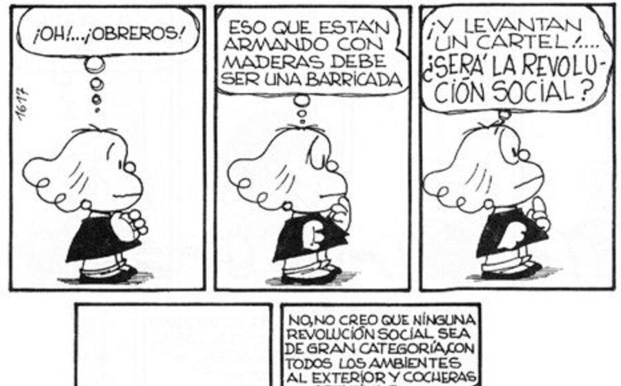 imagen de Quino, Mafalda y la filosofía (parte III)