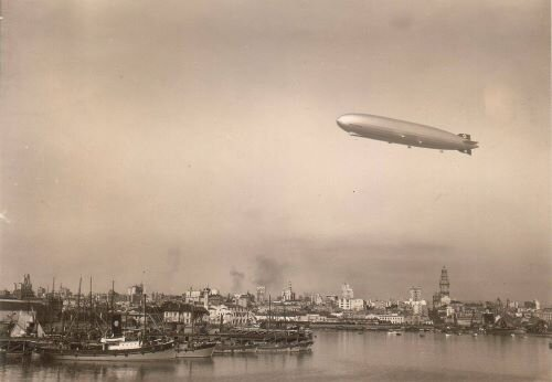 imagen de De cuando un dirigible cruzó el cielo uruguayo