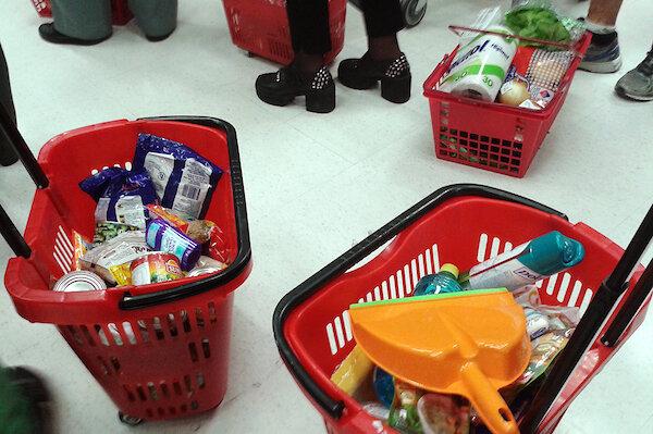 imagen de Marco Aurelio en el supermercado